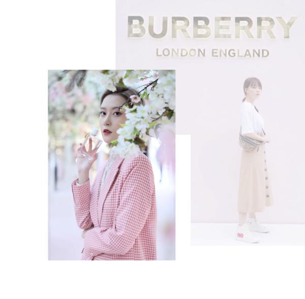 Burberry&如涵 | 美妆KOL线下打卡 图文品宣引流人气